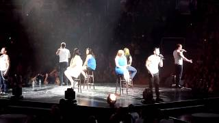 """98 Degrees performing """"My Everything"""" live @ the SAP Center in San Jose CA oon July 12, 2013"""