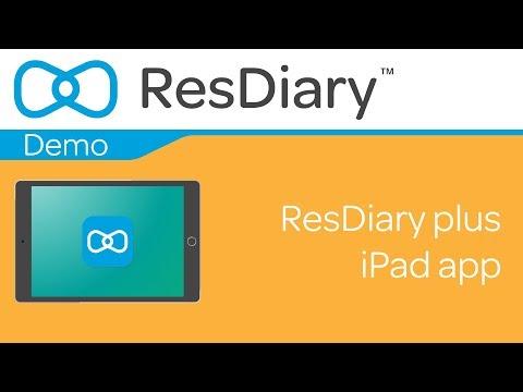ResDiary plus iPad app