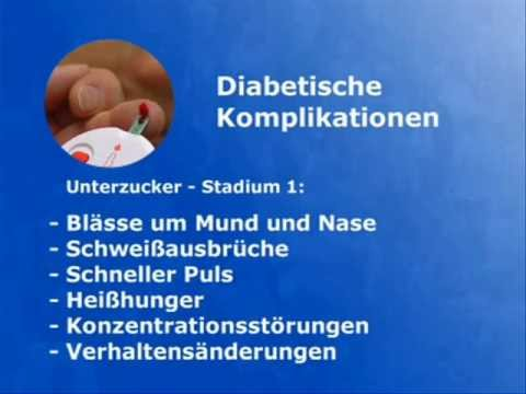 Komplikationen von Diabetes Typ 1