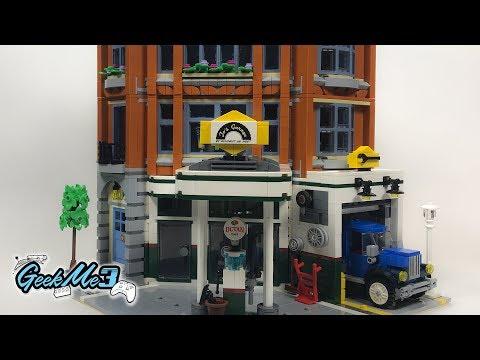 Vidéo LEGO Creator 10264 : Le garage du coin