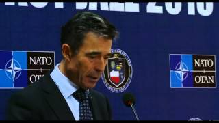 NATO Secretary General Introduction Of Major Military Drill Steadfast Jazz 2013!!