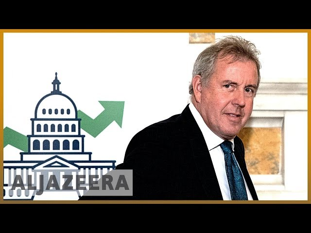 UK ambassador to US resigns as diplomatic crisis deepens