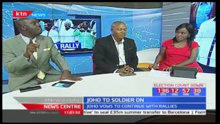 News Centre - 24th March 2017 - JOHO TO SOLDIER ON: Joho to continue with rallies