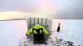 Укрытия от ветра на зимней рыбалке