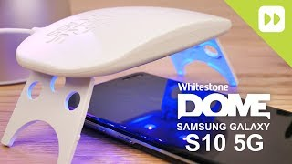 Whitestone Dome Samsung Galaxy S10 5G Glass Screen Protector Installation Guide & Review