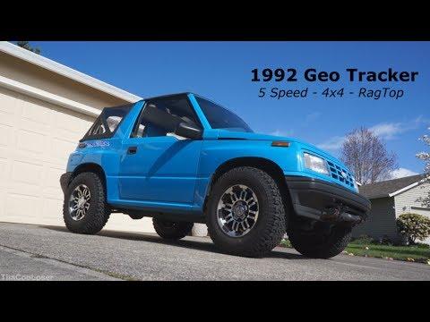1992 Geo Tracker walk around - 5 speed 4x4 Rag Top