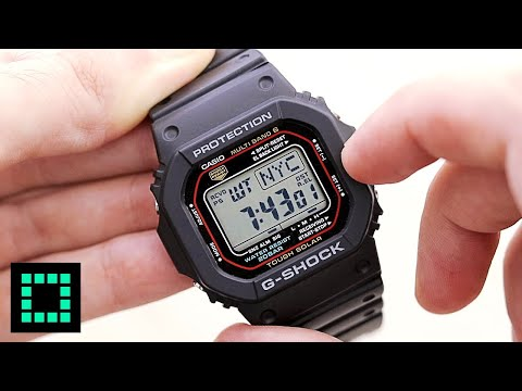 Casio G-Shock GW-M5610 [REVIEW and FUNCTIONS] The BEST G-Shock For Small Wrists!