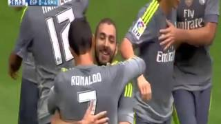 5 голов Криштиану Роналду  Эспаньол - Реал Мадрид 6-0 Чемпионат Испании – 12.09 2015