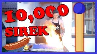 10 000 SIREK - GRILUJEME KLOBÁSY /w Baxtrix