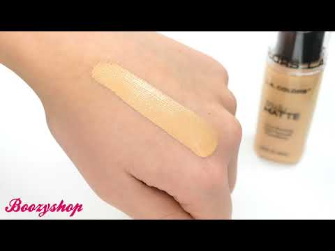 LA Colors LA Colors Truly Matte Foundation Warm Honey