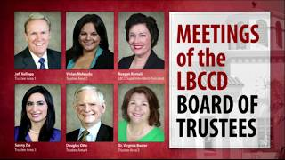 LBCCD - Board Of Trustee Meeting - September 12,  2017