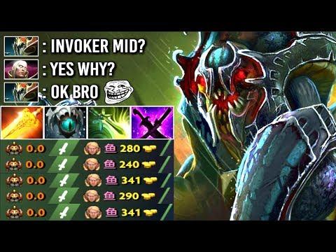 NEW META IMBA BUILD 7.15 Nyx Counter Invoker Mid EZ by Sylar Epic Fun Gameplay WTF Dota 2