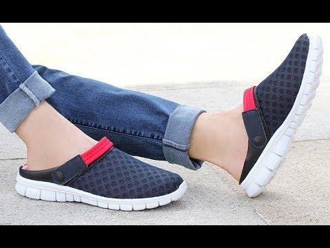 Сандалии с закрытым носком или кроссовки без задника