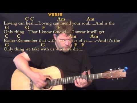 Photograph Ed Sheeran Strum Guitar Cover Lesson With Chordslyrics