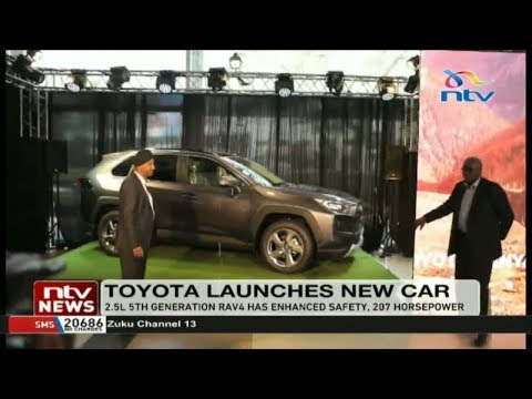 TOYOTA Kenya introduces 2.5L 5th generation RAV4