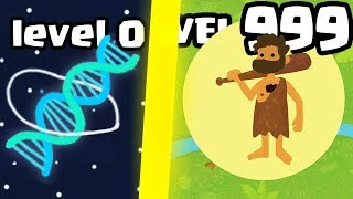 IS THIS THE MOST STRONGEST CREATURE MONSTER EVOLUTION? (9999+ DNA LEVEL) l Evo.io New .IO Games