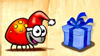 Божья коровка идет в гости к Санта Клаусу. Мультик игра для детей