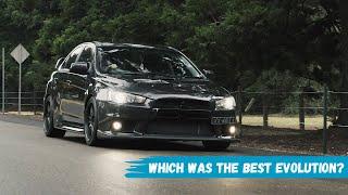 Which was the best Mitsubishi Evolution?