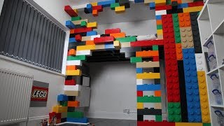 Dad Builds Lego Bedroom For His Son