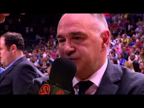 Post-game interviw: Coach Laso, Real Madrid