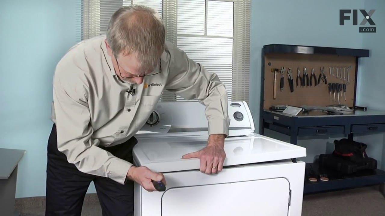 Replacing your Whirlpool Dryer Dryer Door Switch
