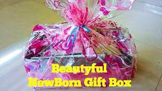 Beautiful Baby Gift Box Making I Baby Gift Hamper