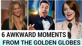 6 Most Awkward Moments At The 2017 Golden Globes