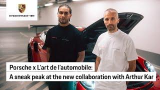 The art of creation with L'art de l'automobile