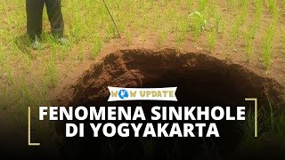 Fenomena Sinkhole di Yogyakarta, Seorang Petani Tiba-tiba Terperosok Sedalam 3 Meter