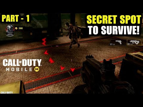 BEST PLACE TO SURVIVE FROM ZOMBIES IN CALL OF DUTY MOBILE ZOMBIES |COD MOBILE ZOMBIE MODE TIPS TRICK