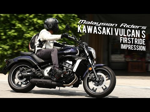 2015 Kawasaki Vulcan S: First Ride Impression -- Ep.1