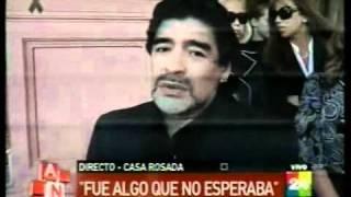 Emotivas Palabras De Diego Maradona En El Velorio De Néstor Kirchner