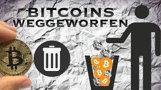 Bitcoin auf Festplatte Passwort Vergessen