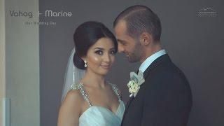 Vahag + Marine's Wedding Highlights at Bellair Banquet Hall St Garabed Church