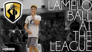 LaMelo Ball Has The Limitless Range Badge!! | Full Highlights From theLEAGUE