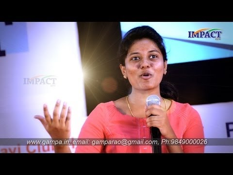 Communication Skills | Aasrita |TELUGU IMPACT Hyd August 2016