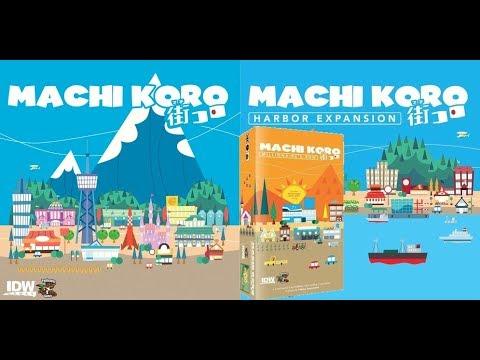 Dad vs Daughter - Machi Koro - Millionaire's Row Expansion