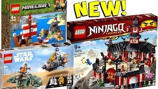 NEW 2019 LEGO Minecraft Ninjago Star Wars Set Pictures Revealed