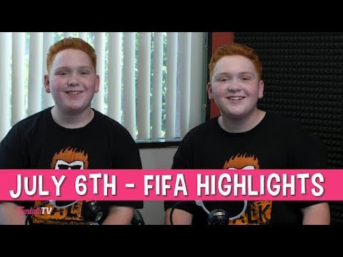 The Royer Twins Top 5 - Fifa July 6th games | FanlalaTV