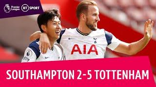 Southampton vs Tottenham (2-5)   Premier League highlights