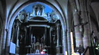 preview picture of video 'Basilique Notre-Dame de Joie, 56300 Pontivy, Morbihan, Brittany, France 29th April 2011'