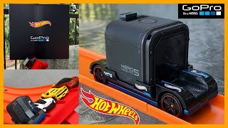 Unboxing and Demo of Hot Wheels GoPro Car (Zoom In) 😃🚗🎥