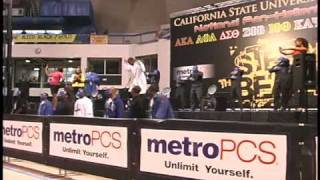 Phi Beta Sigma Long beach State Step Show 2009 pt1 by The Professional Associates