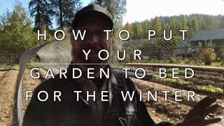 Preparing Your Garden (and soil) for Winter