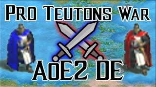 Pro Teutons War in AoE2 DE!