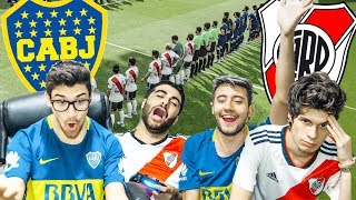 BOCA vs RIVER | Superclásico 2018 | PES 2019