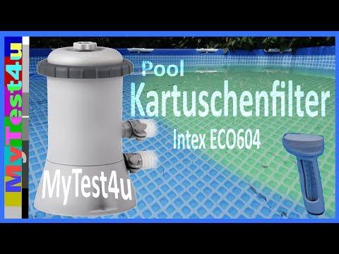 Pool Intex Kartuschenfilter ECO 604G