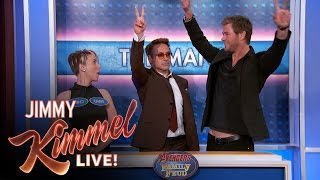 Avengers Family Feud