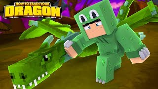TINY TURTLE KILLED MY DRAGON??! HOW TO TRAIN YOUR DRAGON #55 w/ Little Lizard