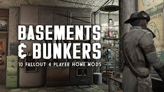 Top 10 Basement and Bunker Player Homes